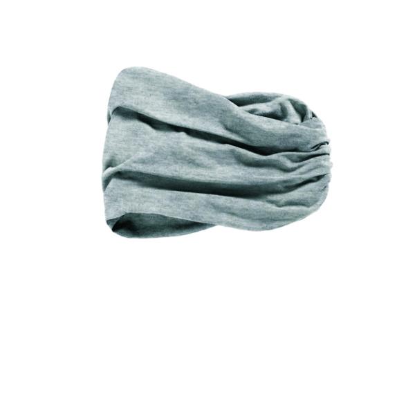 banda-pañuelo modelo CHITTA HEADBAND de bambú color gris claro