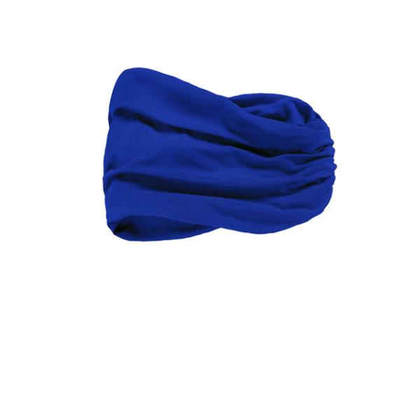 banda-pañuelo modelo CHITTA HEADBAND de bambú color azul oscuro